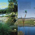 Landscape Architect article on Dale's large scale art installations January 2007