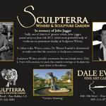 "Sculpterra Announces Dale as their new ""Artist in Residence"""