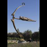 25 Foot tall Mega Focus Sculpture on display at Sculpterra Winery & Sculpture Garden ~ Paso Robles Ca.